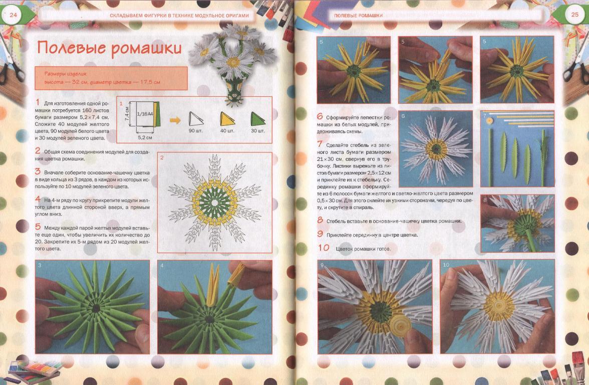 Описание техник оригами