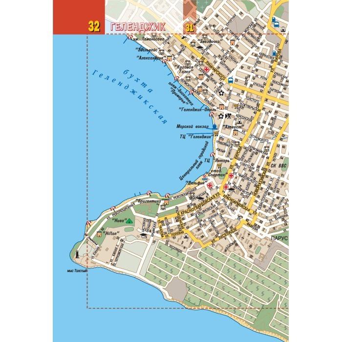 Геленджик карта картинка