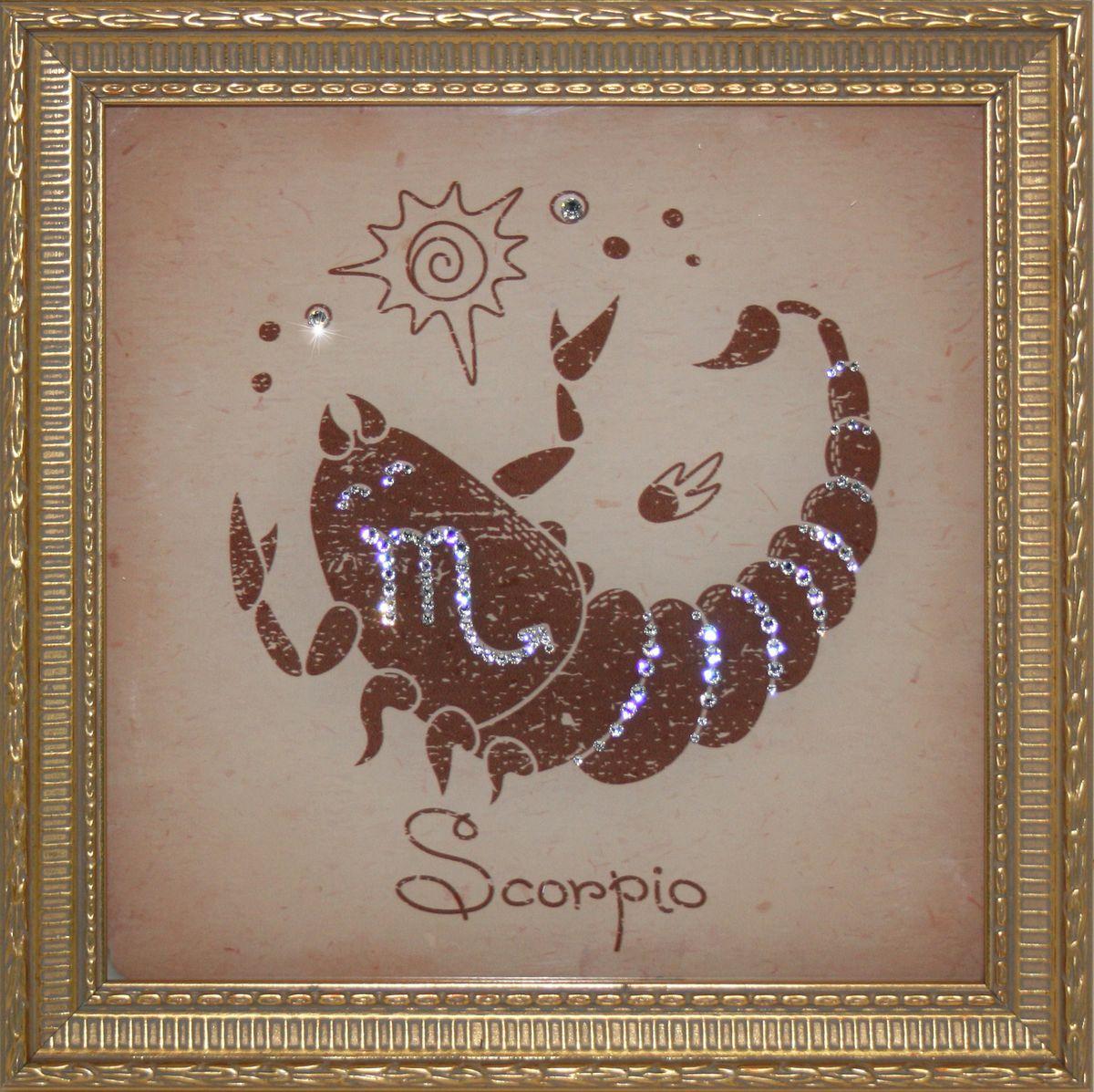 Скорпионы картинки стразами