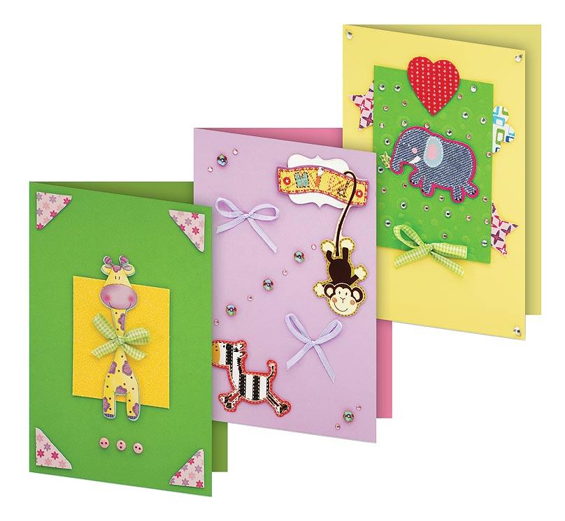 Наборы для создания открытки, открыток