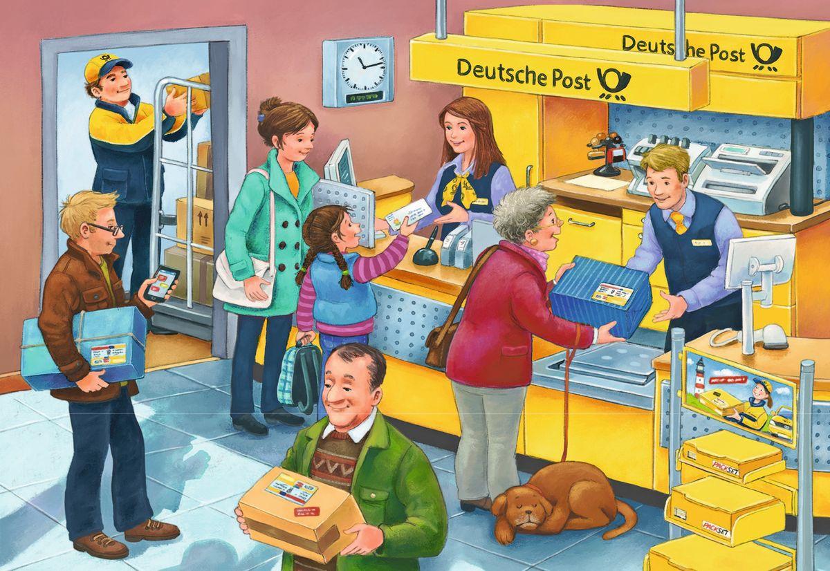 Марта, картинки про почту для детей