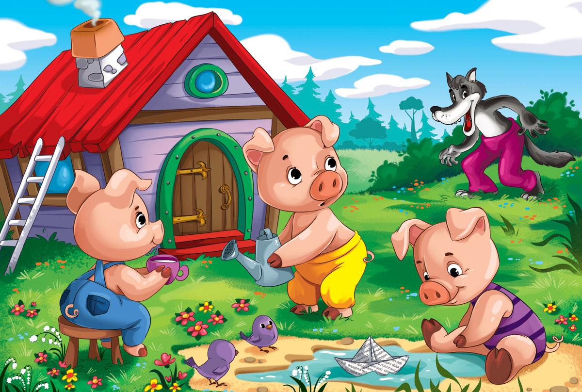 Картинки детских сказок для малышей