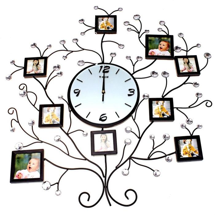 Как сделать часы с рамками для