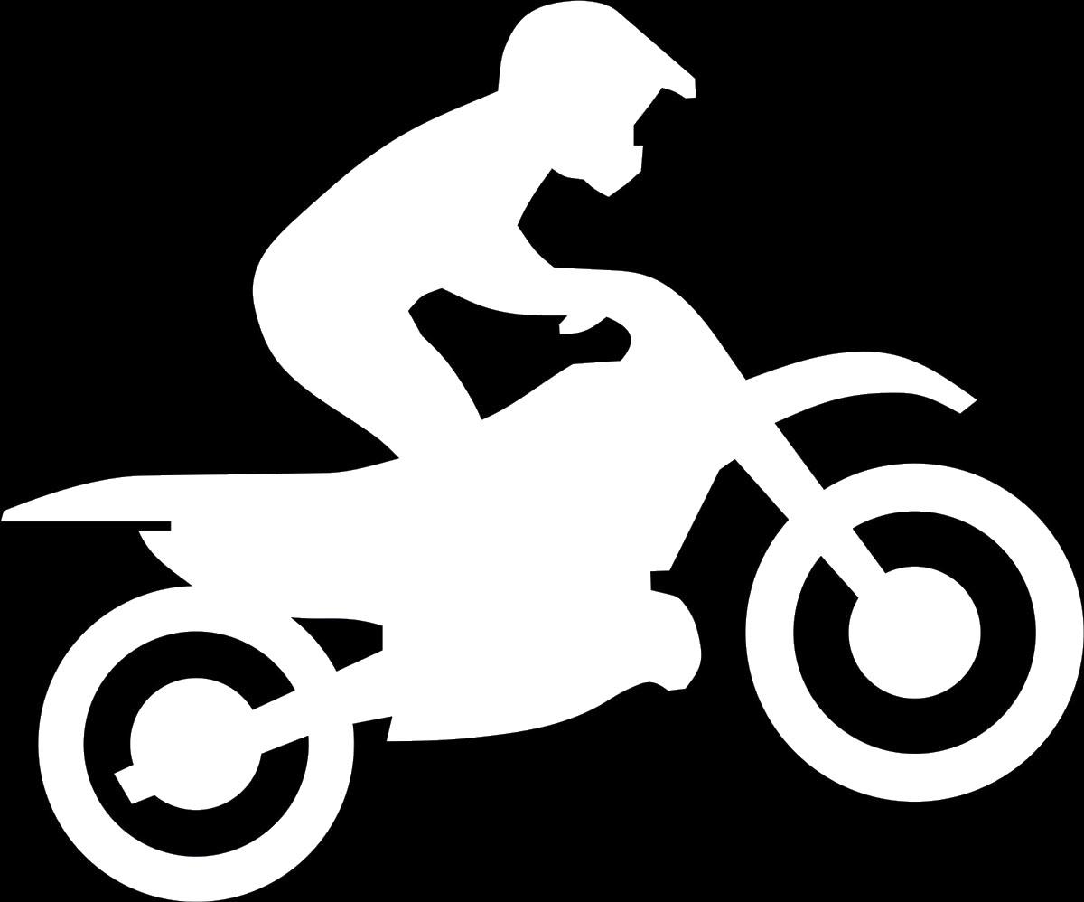 опасно картинки трафареты мотоциклов коричневый