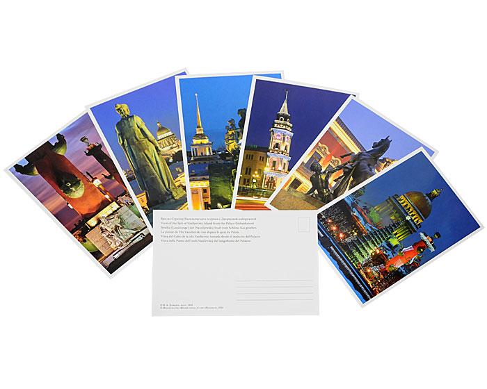 наборы открыток с санкт-петербургом