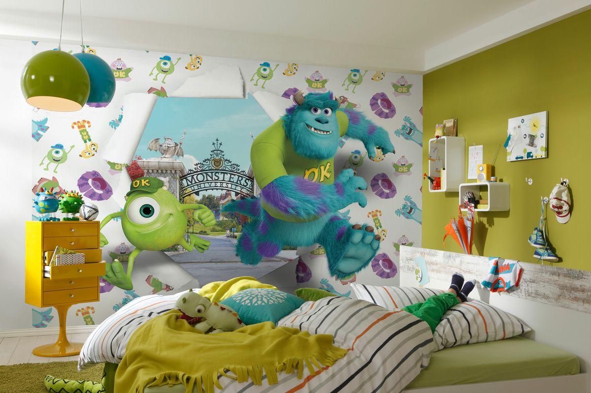 Обои для детской фото в интерьере для маленьких комнат фото