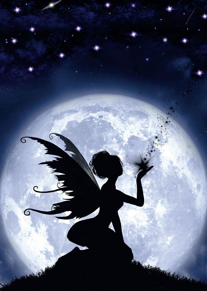 Ангел в луне картинки