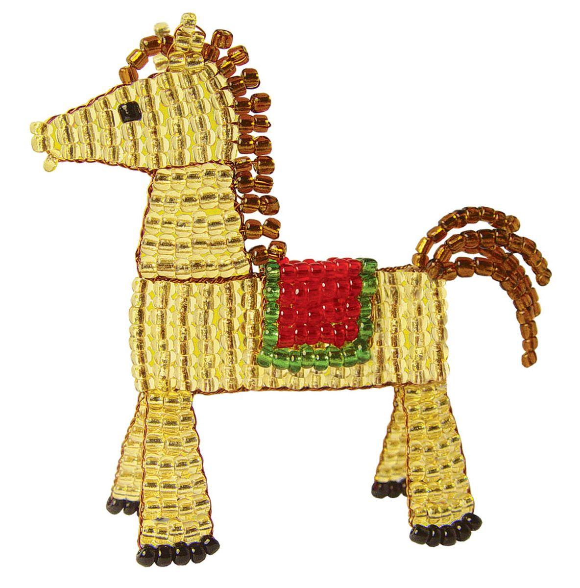 Лошади из бисера картинки